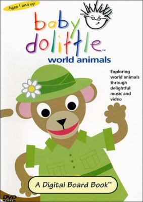 Cover image for Baby Dolittle world animals
