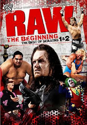 Cover image for Raw, the beginning the best of seasons 1 & 2