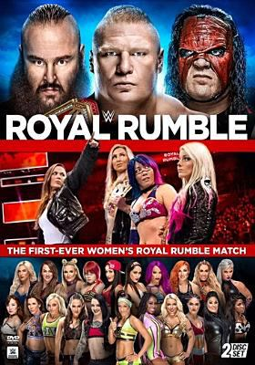 Cover image for WWE Royal rumble 2018.