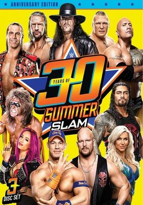 Cover image for WWE: 30 years of summerslam.