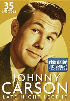 Cover image for Johnny Carson : late night legend.