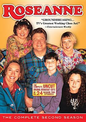 Cover image for Roseanne. The complete second season