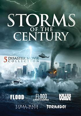 Cover image for Storms of the century : 5 disaster movie collection