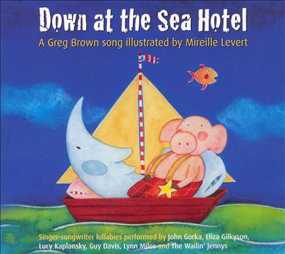 Cover image for Down at the sea hotel