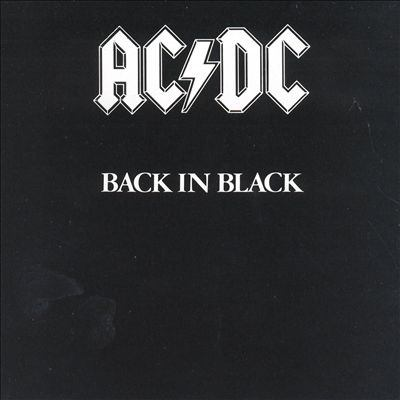 Cover image for Back in black