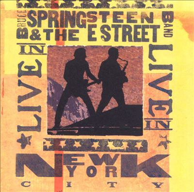 Cover image for Live in New York City