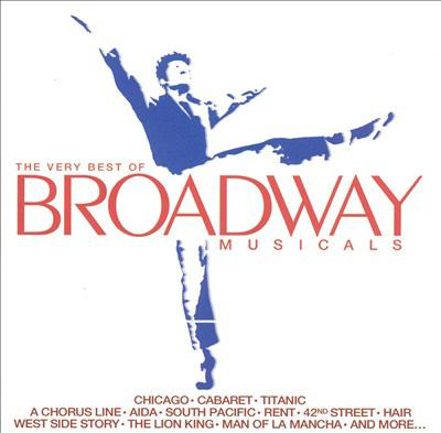Cover image for The very best of Broadway musicals