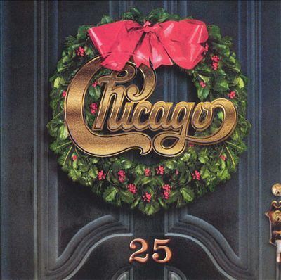 Cover image for Chicago XXV the Christmas album.