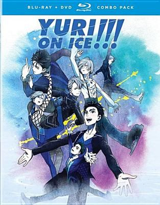 Cover image for Yuri!!! on ice : the complete series