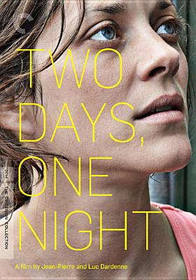 Cover image for Two days, one night = Deux jours, une nuit