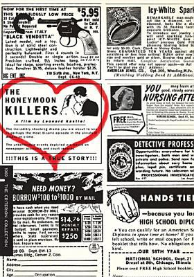 Cover image for The honeymoon killers