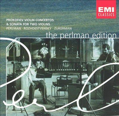 Cover image for Violin concertos &, Sonata for two violins