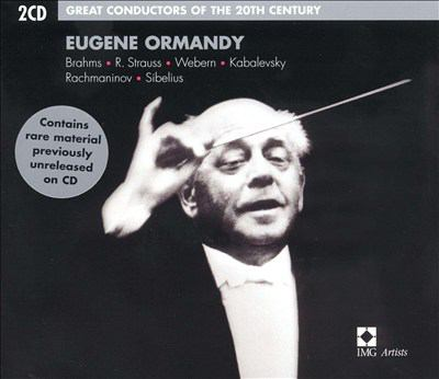 Cover image for Eugene Ormandy
