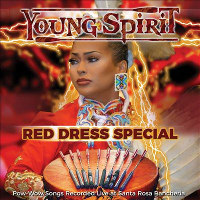 Cover image for Red dress special : pow-wow songs recorded live at Santa Rosa Rancheria
