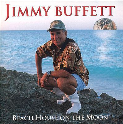 Cover image for Beach house on the moon