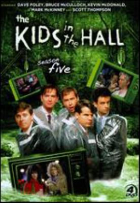 Cover image for The kids in the hall. Season five