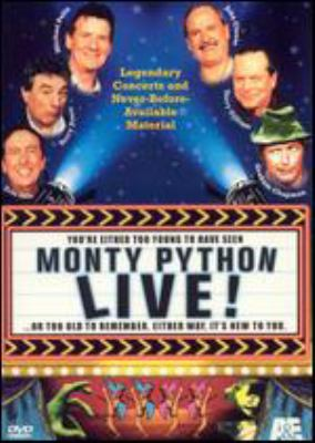 Cover image for Monty Python live!