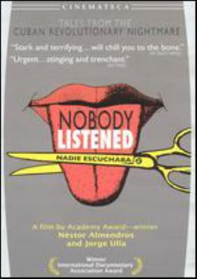 Cover image for Nobody listened Nadie escuchaba
