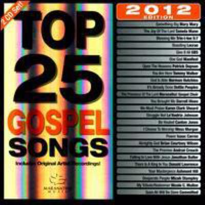 Cover image for Top 25 gospel songs