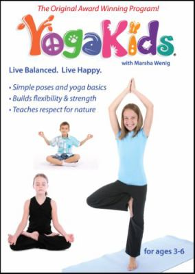 Cover image for YogaKids live balanced, live happy.
