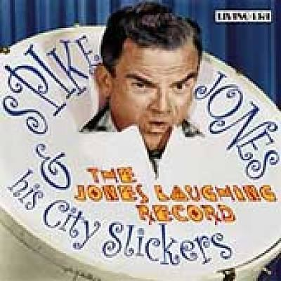 Cover image for The Jones laughing record