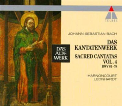 Cover image for Das Kantatenwerk. Vol. 4