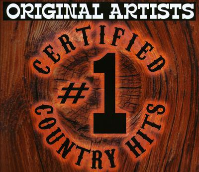 Cover image for Certified #1 country hits