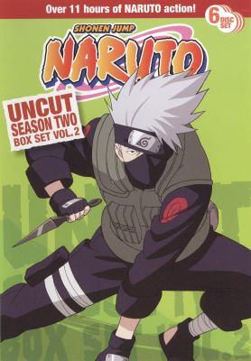 Cover image for Naruto. Uncut season two, box set vol. 2