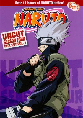 Cover image for Naruto. Uncut season four box set. Vol. 1
