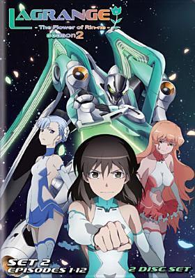 Cover image for Lagrange, the flower of Rin-ne. Season 2, set 2, episodes 1-12