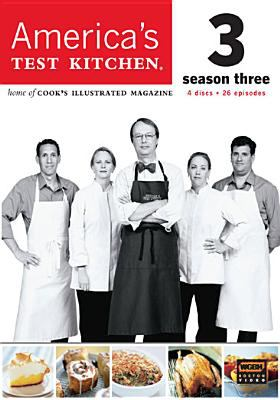 Cover image for America's test kitchen. Season three