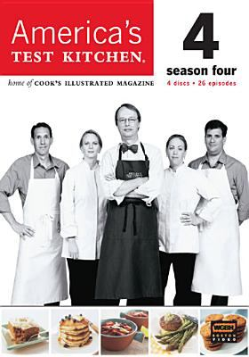 Cover image for America's test kitchen. Season four