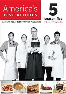 Cover image for America's test kitchen. Season five