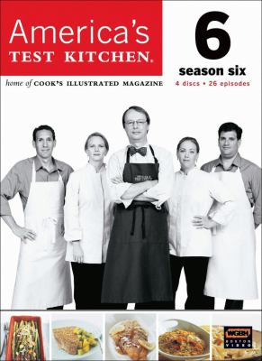 Cover image for America's test kitchen. Season six