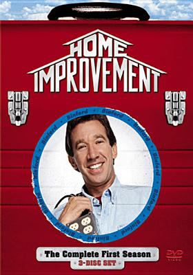 Cover image for Home improvement. The complete first season