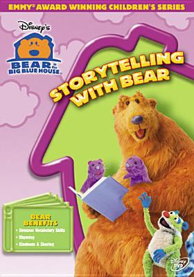 Cover image for Bear in the big blue house. Storytelling with bear