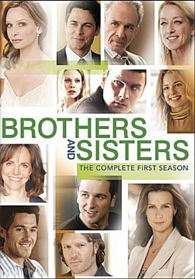 Cover image for Brothers and sisters. The complete first season