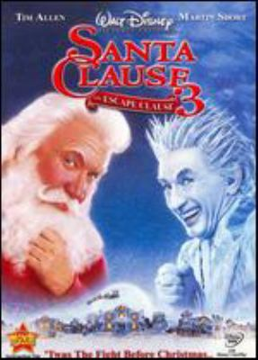 Cover image for Santa clause 3 the escape clause
