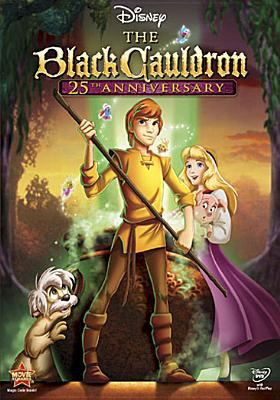 Cover image for The black cauldron