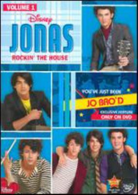 Cover image for Jonas. Rockin' the house. Volume 1