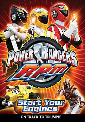 Cover image for Power Rangers RPM. Start your engines