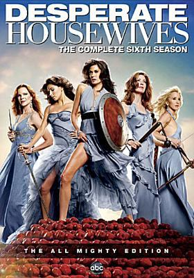 Cover image for Desperate housewives. The complete sixth season