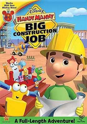 Cover image for Handy Manny. Big construction job