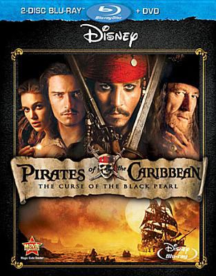 Cover image for Pirates of the Caribbean the curse of the Black Pearl