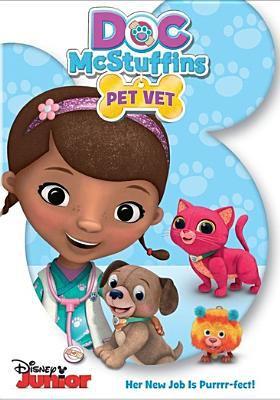 Cover image for Doc McStuffins. Pet vet
