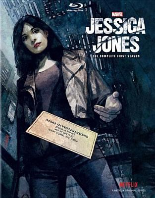 Cover image for Jessica Jones. The complete first season