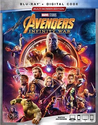 Cover image for Avengers : infinity war