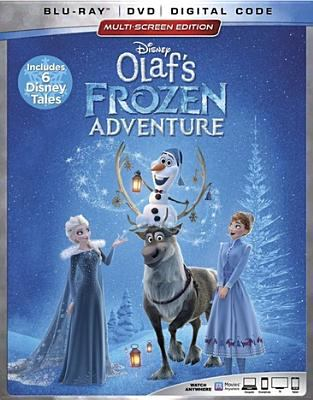 Cover image for Olaf's frozen adventure