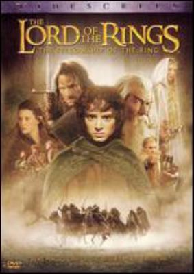 Cover image for The lord of the rings, the fellowship of the ring