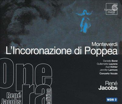 Cover image for L'incoronazione di Poppea